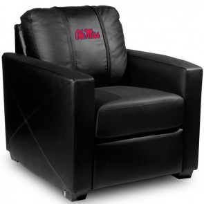 Mississippi Dillon Silver Club Chair