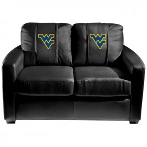 West Virginia Dillon Silver Loveseat