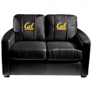 California Dillon Silver Loveseat