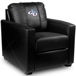 Gonzaga Dillon Silver Club Chair