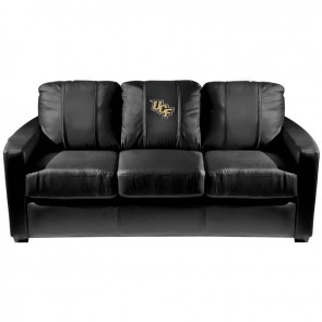 Central Florida Logo Dillon Silver Sofa