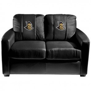 Central Florida Knights Logo Dillon Silver Loveseat