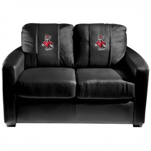 North Carolina State Wolf Dillon Silver Loveseat