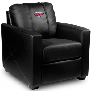 Atlanta Hawks Dillon Silver Club Chair
