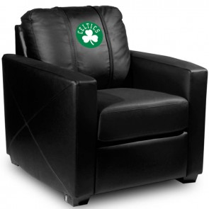 Boston Celtics Secondary Dillon Silver Club Chair