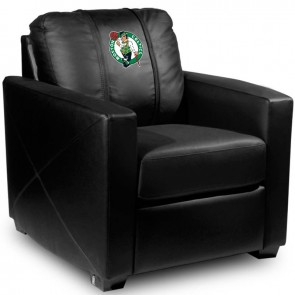 Boston Celtics Dillon Silver Club Chair