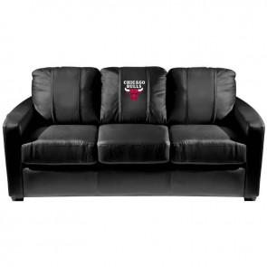 Chicago Bulls Dillon Silver Sofa