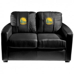 Golden State Warriors Dillon Silver Loveseat