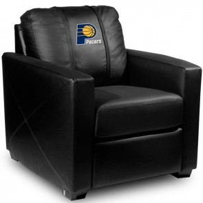 Indiana Pacers Dillon Silver Club Chair
