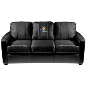 Indiana Pacers Dillon Silver Sofa