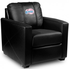 Los Angeles Clippers Dillon Silver Club Chair