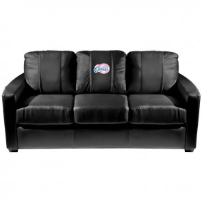 Los Angeles Clippers Dillon Silver Sofa