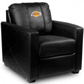 Los Angeles Lakers Dillon Silver Club Chair