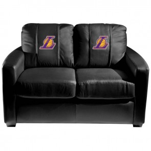 Los Angeles Lakers Secondary Dillon Silver Loveseat