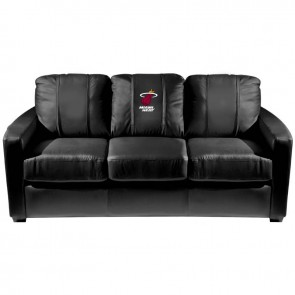 Miami Heat Dillon Silver Sofa