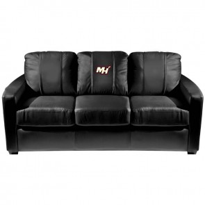Miami Heat Secondary Dillon Silver Sofa