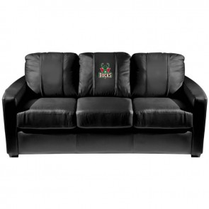 Milwaukee Bucks Dillon Silver Sofa