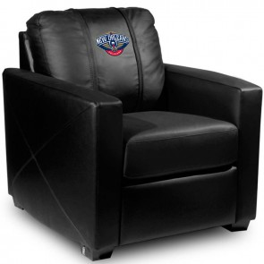 New Orleans Pelicans Dillon Silver Club Chair