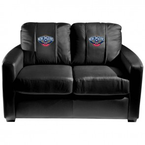 New Orleans Pelicans Dillon Silver Loveseat