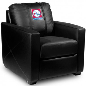Philadelphia 76ers Dillon Silver Club Chair