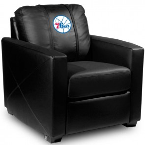 Philadelphia 76ers Secondary Dillon Silver Club Chair