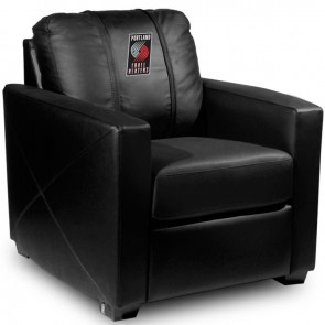 Portland Trailblazers Dillon Silver Club Chair