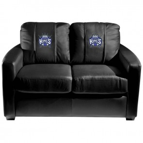 Sacramento Kings Dillon Silver Loveseat