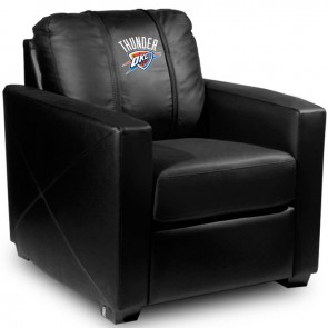 Oklahoma City Thunder Dillon Silver Club Chair
