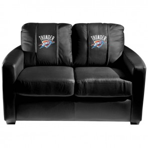Orlando Magic Dillon Silver Loveseat