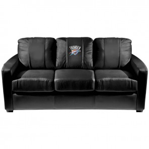 Oklahoma City Thunder Dillon Silver Sofa