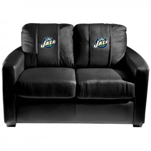 Utah Jazz Dillon Silver Loveseat