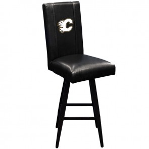 Calgary Flames Swivel Bar Stool 2000
