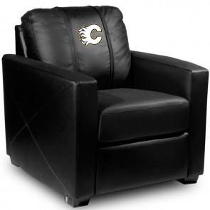 Calgary Flames Dillon Silver Club Chair