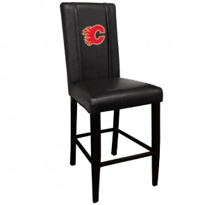 Calgary Flames Red Bar Stool 2000