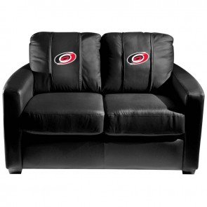 Carolina Hurricanes Dillon Silver Loveseat