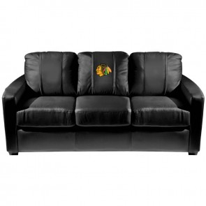 Colorado Avalanche Dillon Silver Sofa