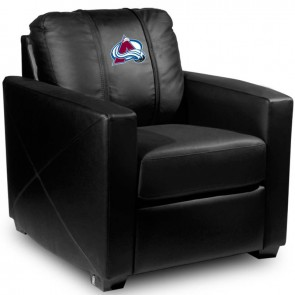 Colorado Avalanche Dillon Silver Club Chair