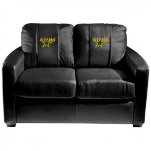 Dallas Stars Dillon Silver Loveseat