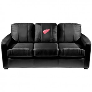 Detroit Red Wings Dillon Silver Sofa