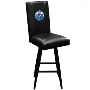 Edmonton Oilers Swivel Bar Stool 2000