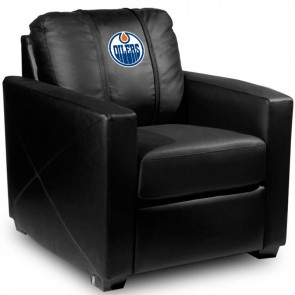Edmonton Oilers Dillon Silver Club Chair