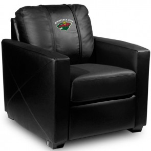 Minnesota Wild Dillon Silver Club Chair