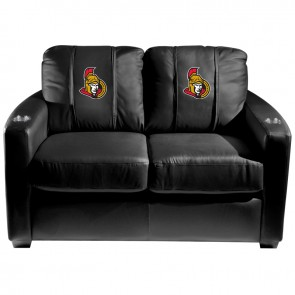 Ottawa Senators Dillon Silver Loveseat