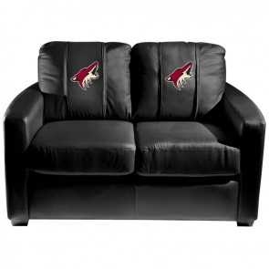 Arizona Coyotes Dillon Silver Loveseat