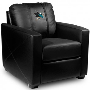 San Jose Sharks Dillon Silver Club Chair