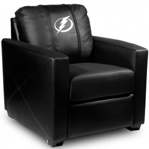 Tampa Bay Lightning Dillon Silver Club Chair