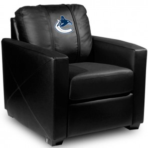 Vancouver Canucks Dillon Silver Club Chair