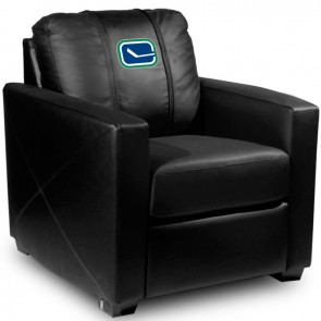 Vancouver Canucks Secondary Dillon Silver Club Chair