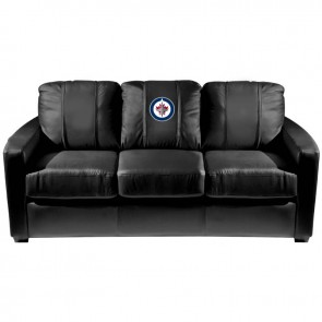 Winnipeg Jets Dillon Silver Sofa