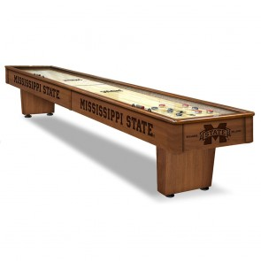 Mississippi State 12' Shuffleboard Table